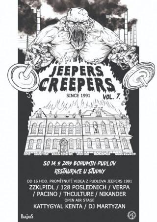 JEEPERS CREEPERS VOL.7 v Bohumíně 14.09.2019