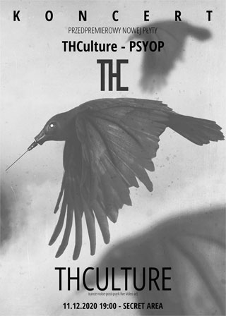 Prerelease concert THCulture - PSYOP - 11.12.2020