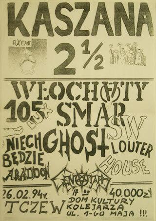 Concert SMAR SW - KASZANA 2 i 1/2 - Tczew - 26.02.1994