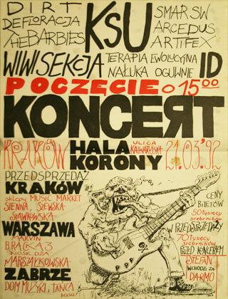 Concert SMAR SW - Kraków - Hala Korony - 21.03.1992