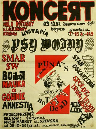 Concert SMAR SW - Kraków - Hala Rotundy - 03.10.1992