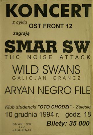 Concert SMAR SW - OST FRONT #12 - Rzeszów - O to chodzi - 10.12.1994