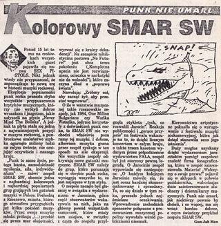 Punk nie umarł - Kolorowy SMAR SW