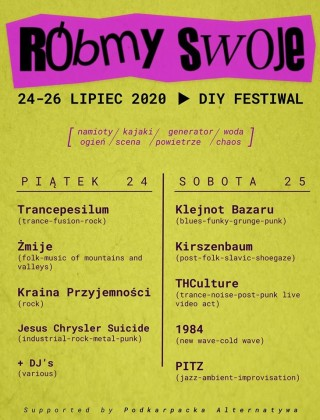 Let's Do Own Fest 2020 - Devil Beach - 24-25.07.2020