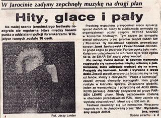 SMAR SW Jarocin 93 - Hity, glace i pały