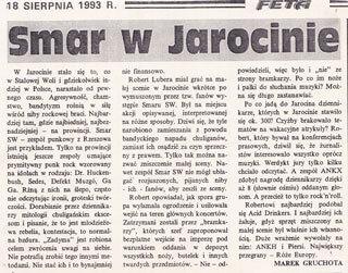SMAR SW Jarocin 93 - Smar w Jarocinie - gazeta Stalowa Wola