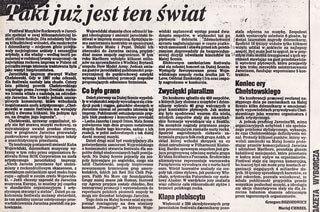 SMAR SW Jarocin 93 - Taki już jest ten świat - gazeta wyborcza